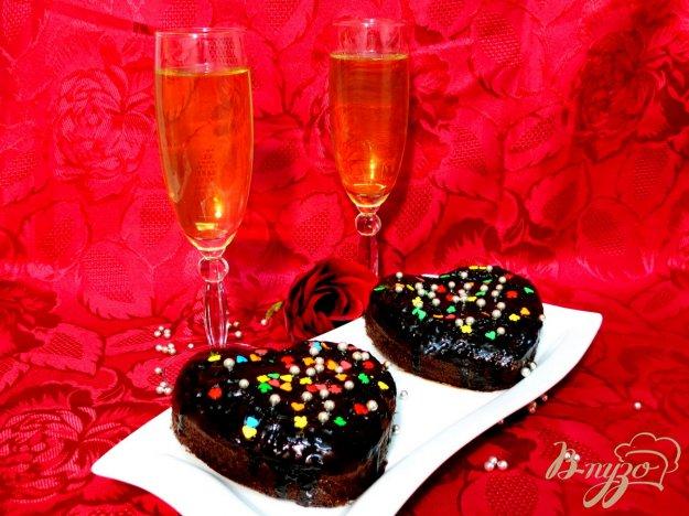 фото рецепта: Пирожные сердечные