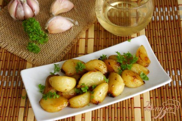 фото рецепта: Пряный чеснок по провански