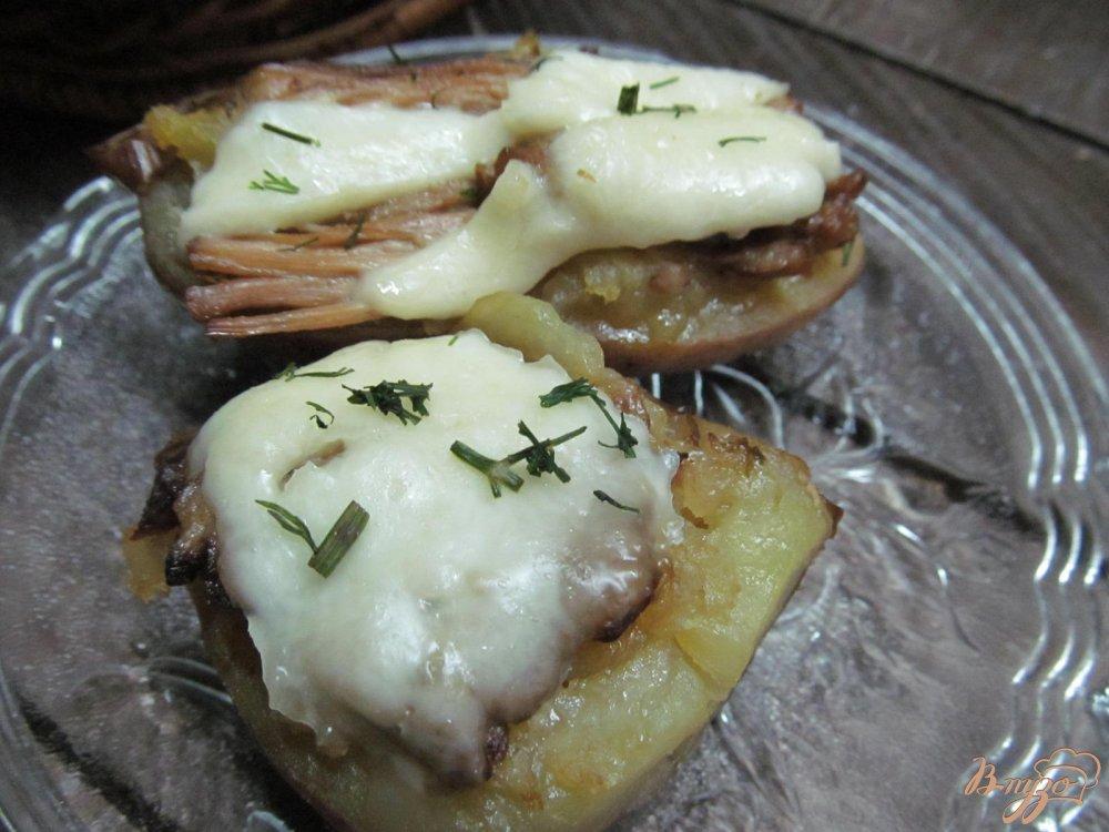 картошка с брынзой в духовке рецепт