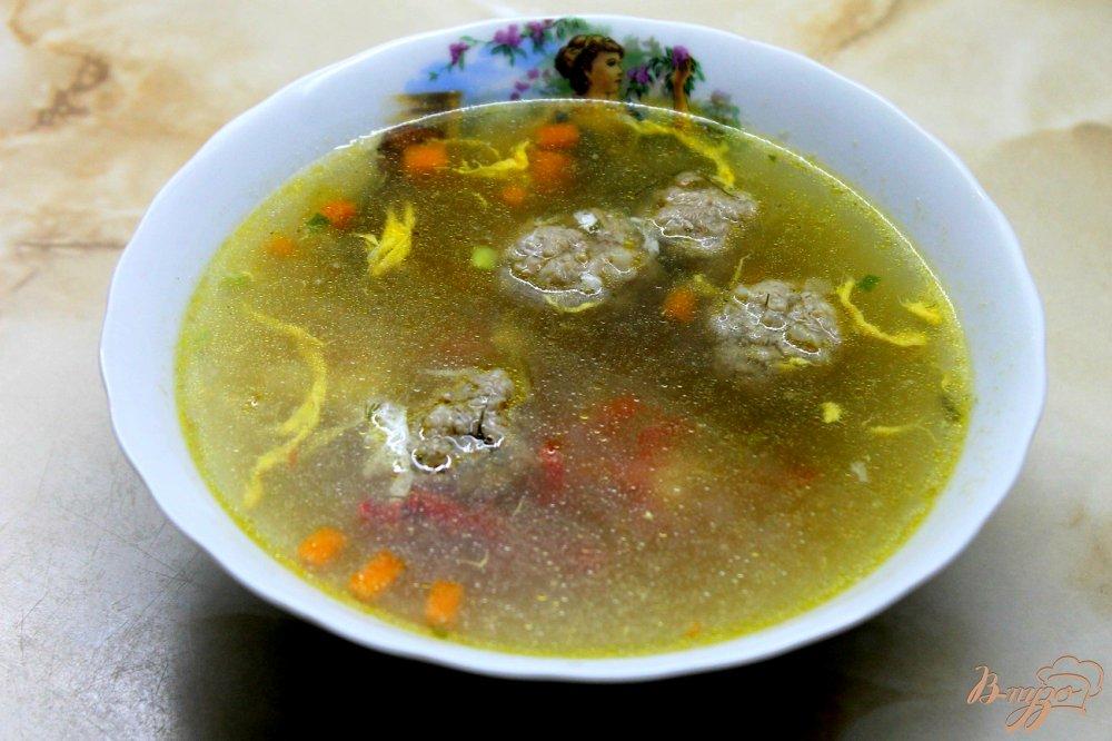 Рецепт супа с свиными фрикадельками