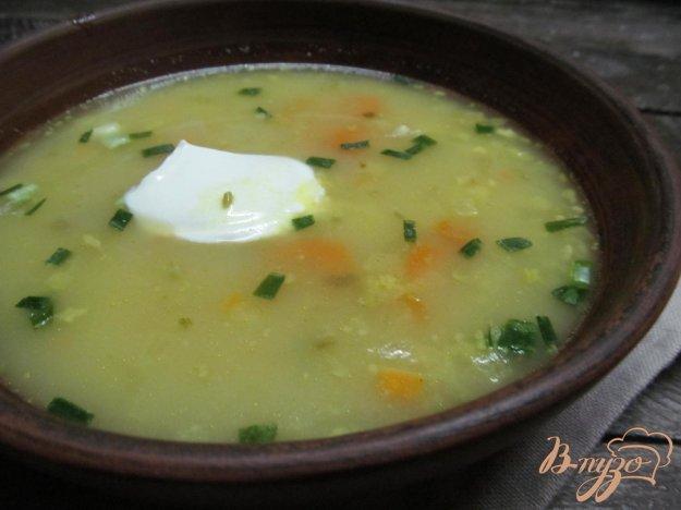 фото рецепта: Суп из овощей и капустой кольраби