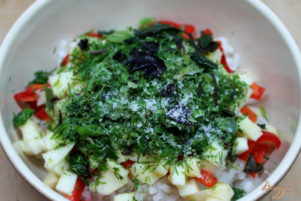Салат рисом зиму рецепты фото