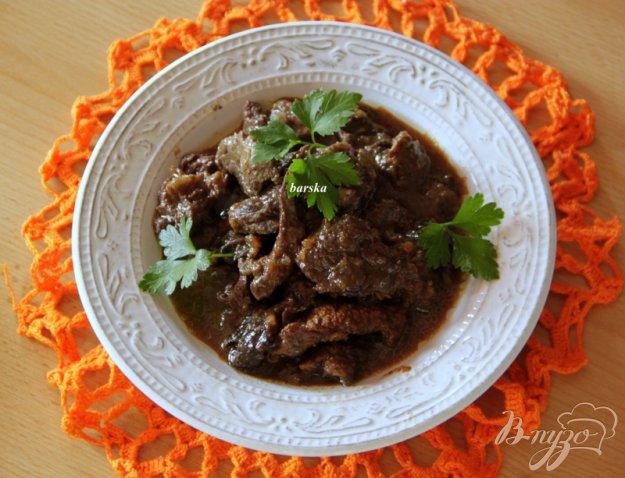 фото рецепта: Говядина в соевом соусе