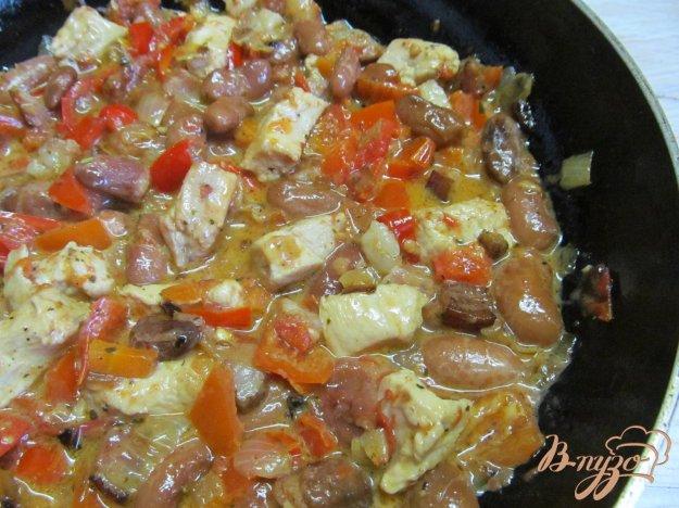 фото рецепта: Рагу из фасоли и куриных грудок