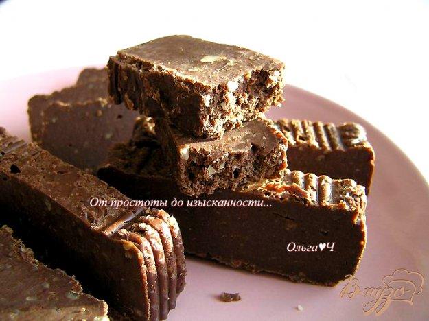фото рецепта: Шоколадный фадж с миндалем