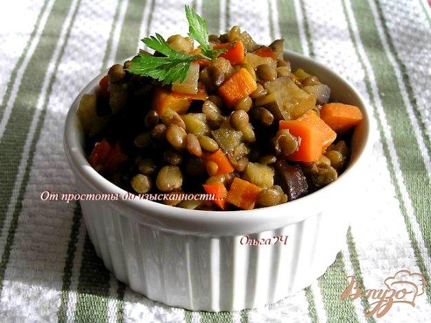 фото рецепта: Овощное рагу с чечевицей