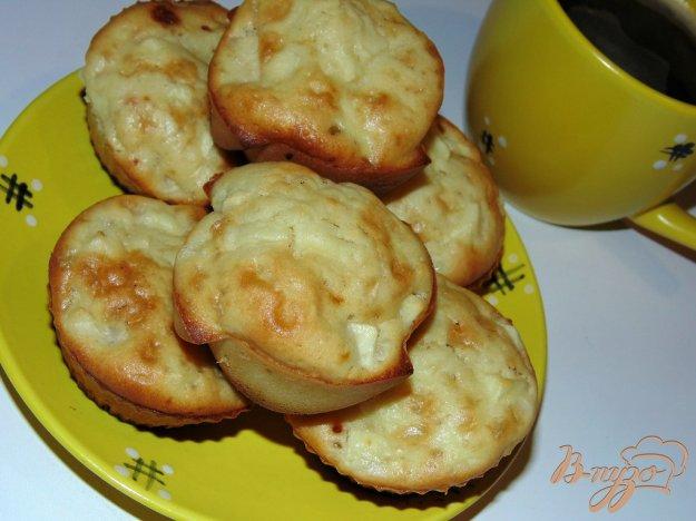 фото рецепта: Лимонные кексы с яблоком