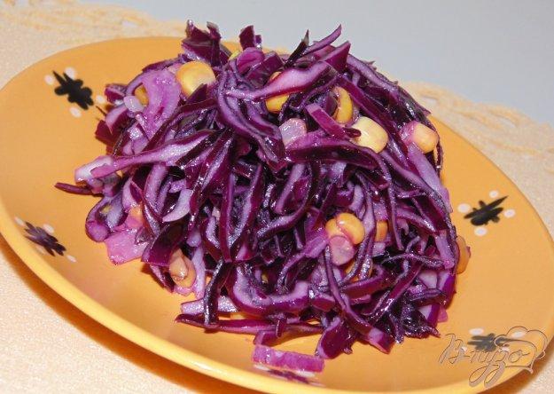 Салат из красного лука рецепт с