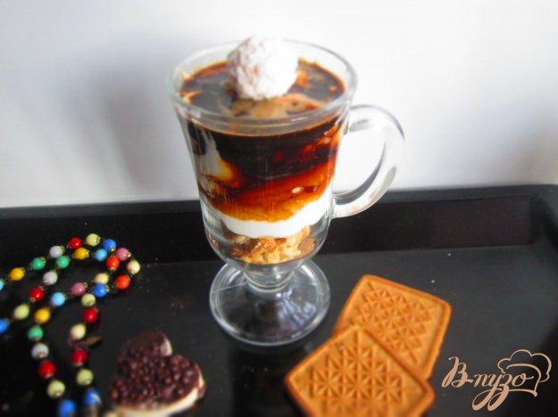 фото рецепта: Творожно-кофейный десерт