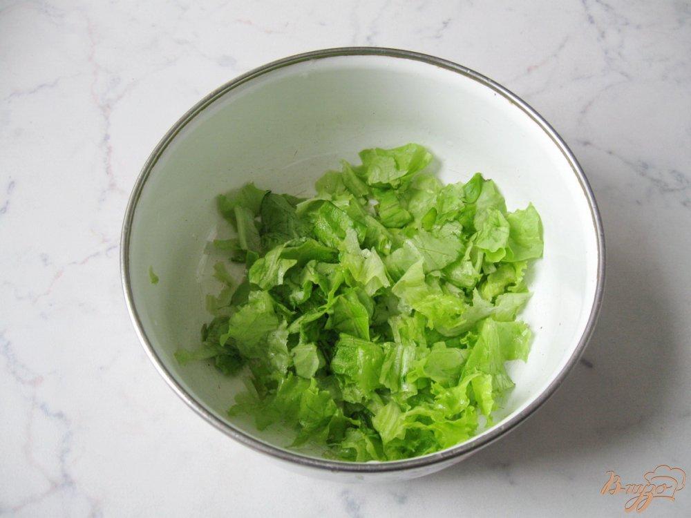 Салат из редьки и помидор