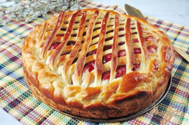 Праздничный сдобный пирог рецепт с фото пошаговый Едим