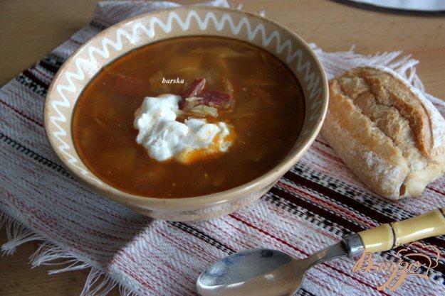 фото рецепта: Суп с капустой по-старочешски