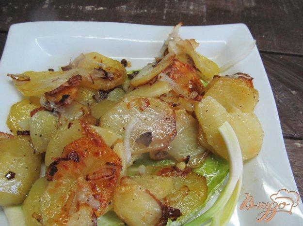 фото рецепта: Жаренный картофель по-лионски