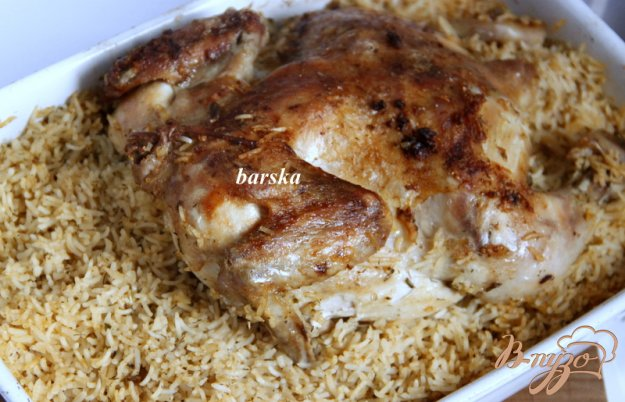 фото рецепта: Курица по-аджарски на рисе