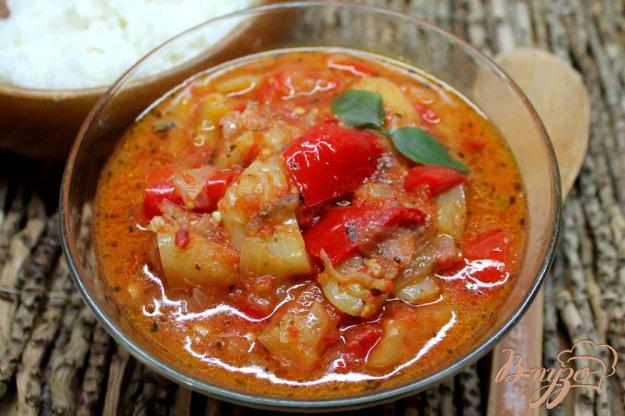 фото рецепта: Лечо из красного и желтого перца