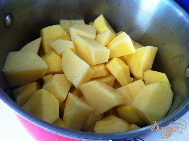 Фото приготовление рецепта: Блины из картофельного пюре шаг №1
