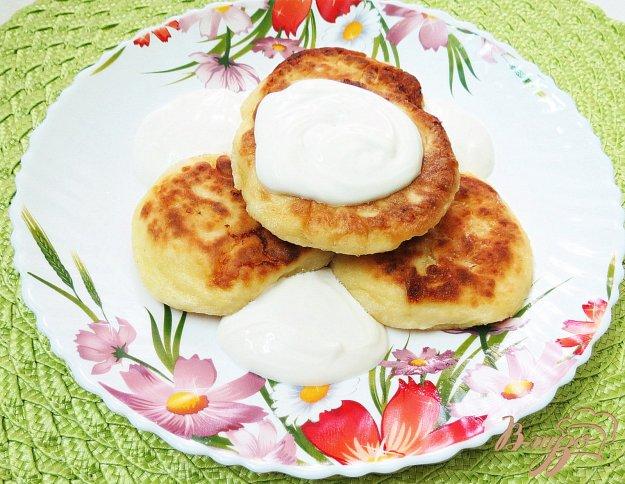 фото рецепта: Творожники на сковороде