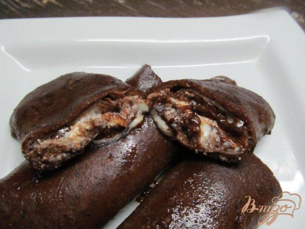 фото рецепта: Шоколадные блинчики