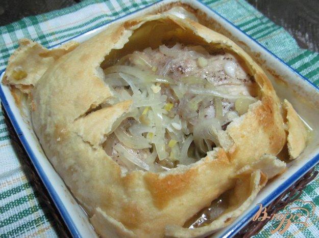 фото рецепта: Курица в тесте