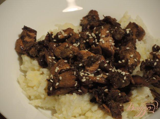 фото рецепта: Курица терияки с рисом