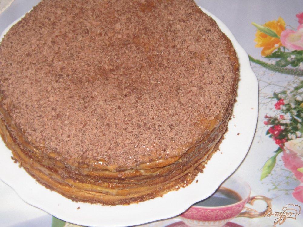 Простой рецепт торта с вареной сгущенкой в домашних условиях 4