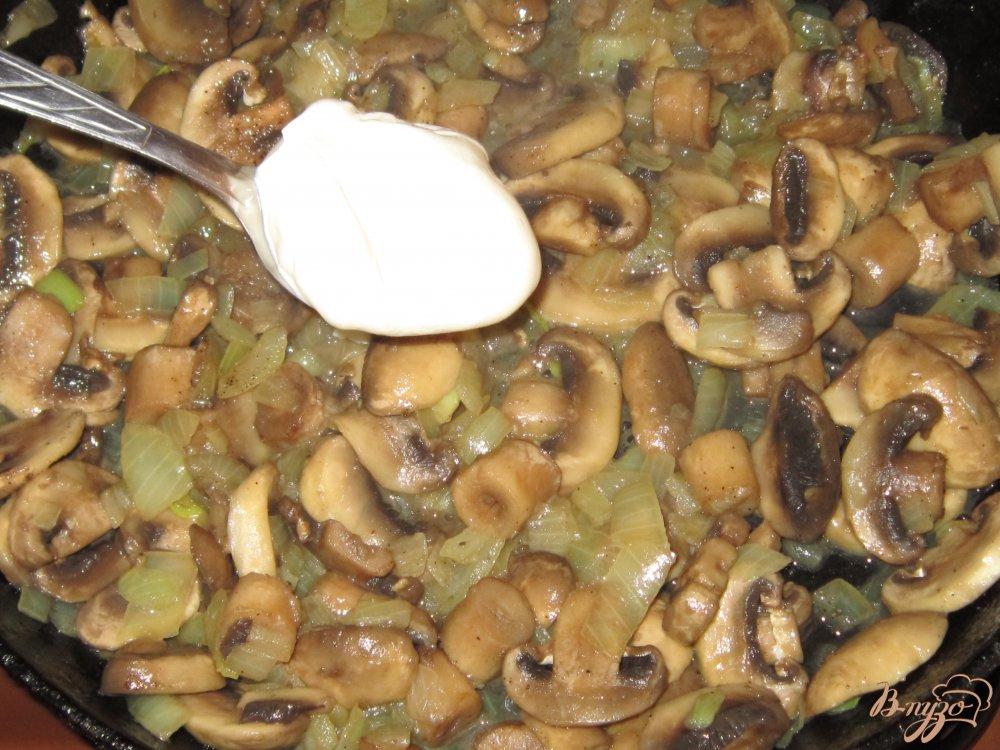 Тушеные грибы рецепты с фото