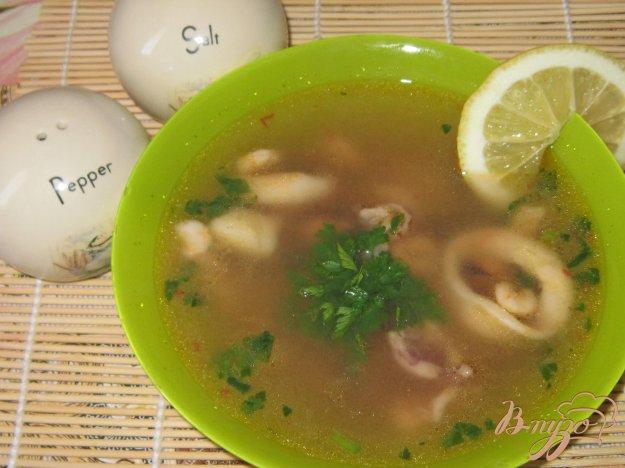 фото рецепта: Суп из морского коктейля