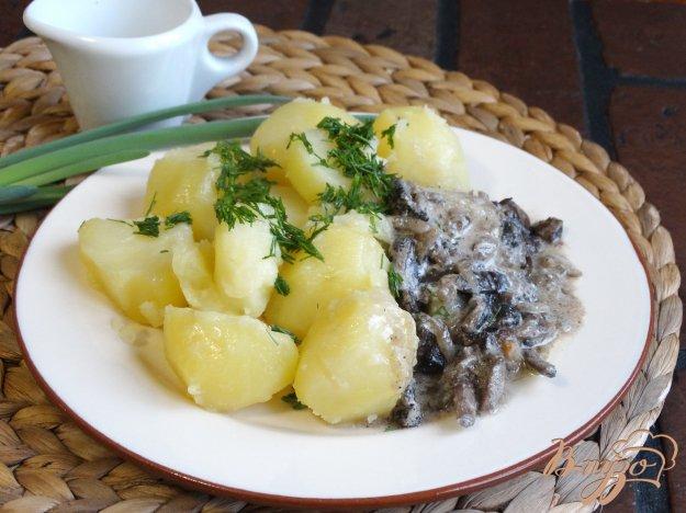 Соус из грибов для картошки