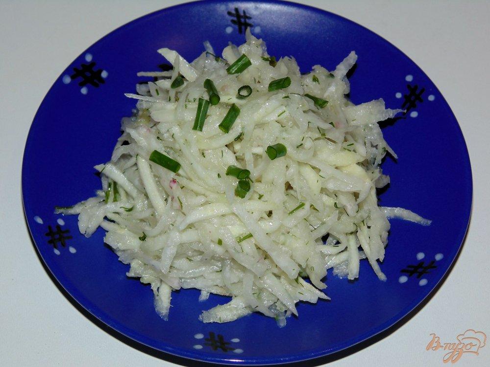 Фото приготовление рецепта: Салат Белочка шаг №5