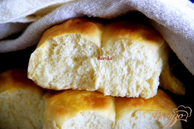фото рецепта: Воздушные картофельные булочки