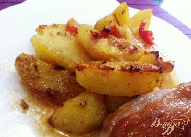 фото рецепта: Острый запеченный картофель