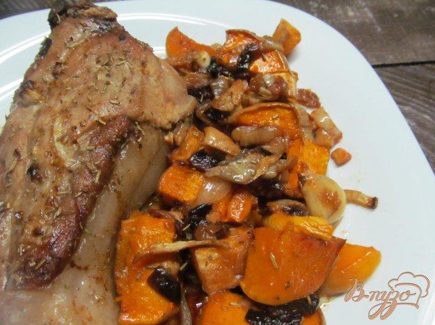 фото рецепта: Свиной хвост с овощами