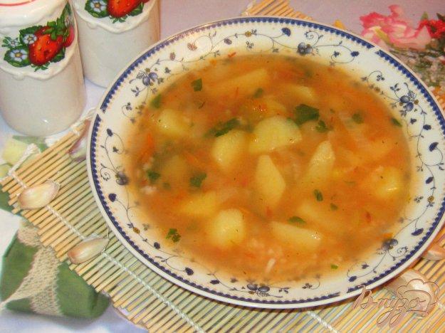 фото рецепта: Постный суп харчо