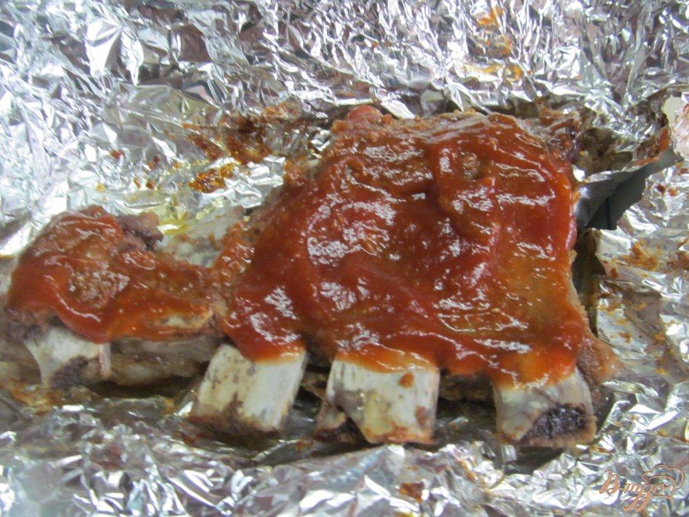 ребра свиные рецепты в фольге в духовке