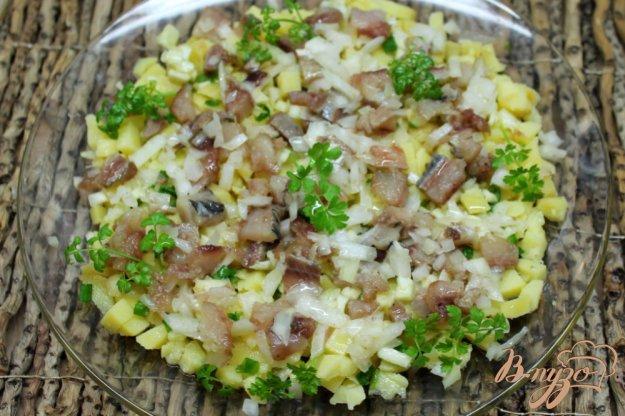 Салат из селедки рецепт с фото пошагово в