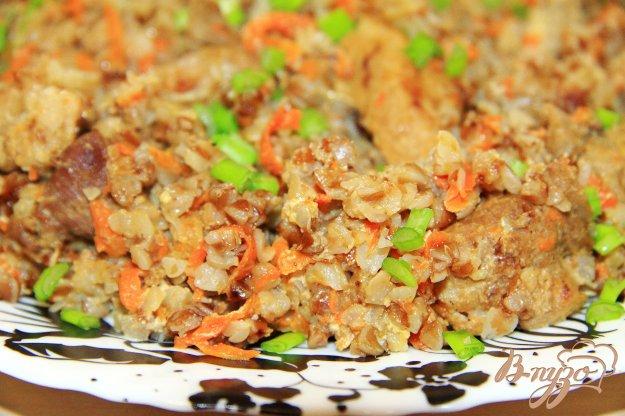 фото рецепта: Гречка с мясом в мультиварке