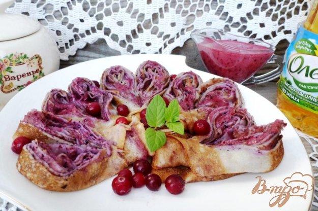 фото рецепта: Сладкий ягодный соус  к блинчикам