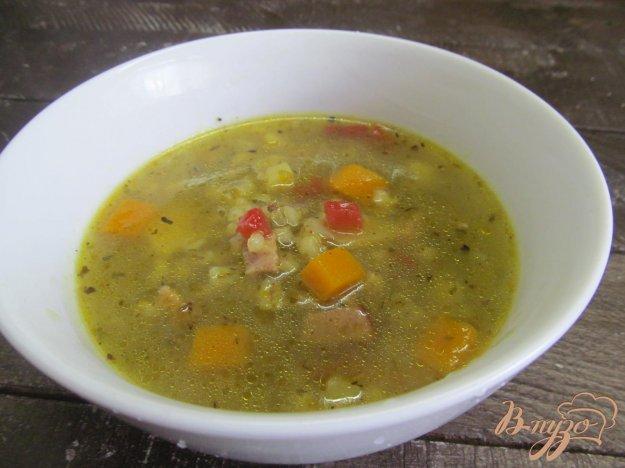 фото рецепта: Суп с тыквой и сельдереем