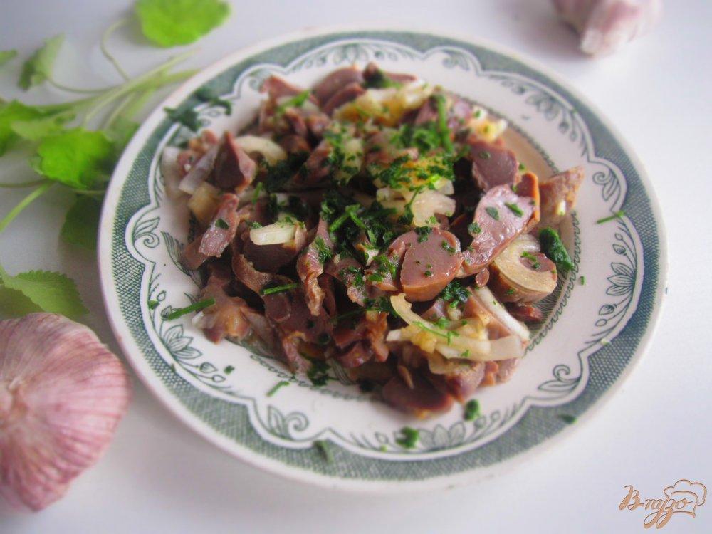 Рецепт закуска из желудков куриных