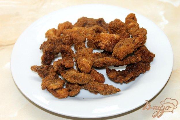 фото рецепта: Утиное филе в панировке жаренное во фритюре