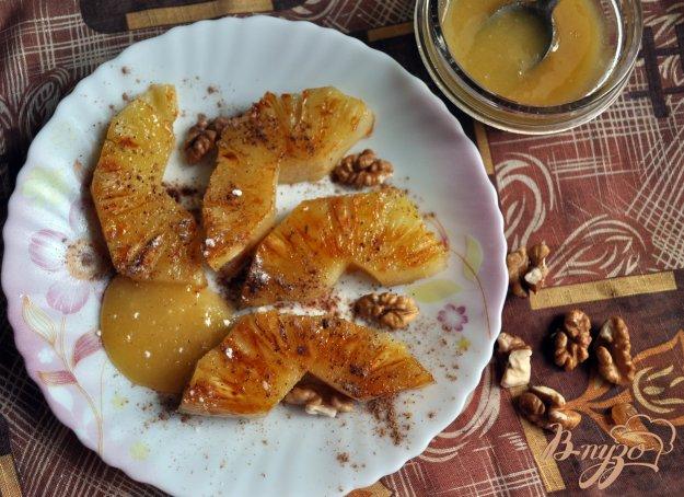 фото рецепта: Жареный ананас