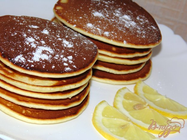 фото рецепта: Лимонные панкейки