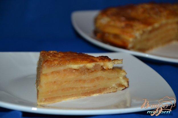 фото рецепта: Яблочный пирог «Для сладкоежек»