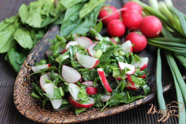 салат из редиса пошаговый рецепт