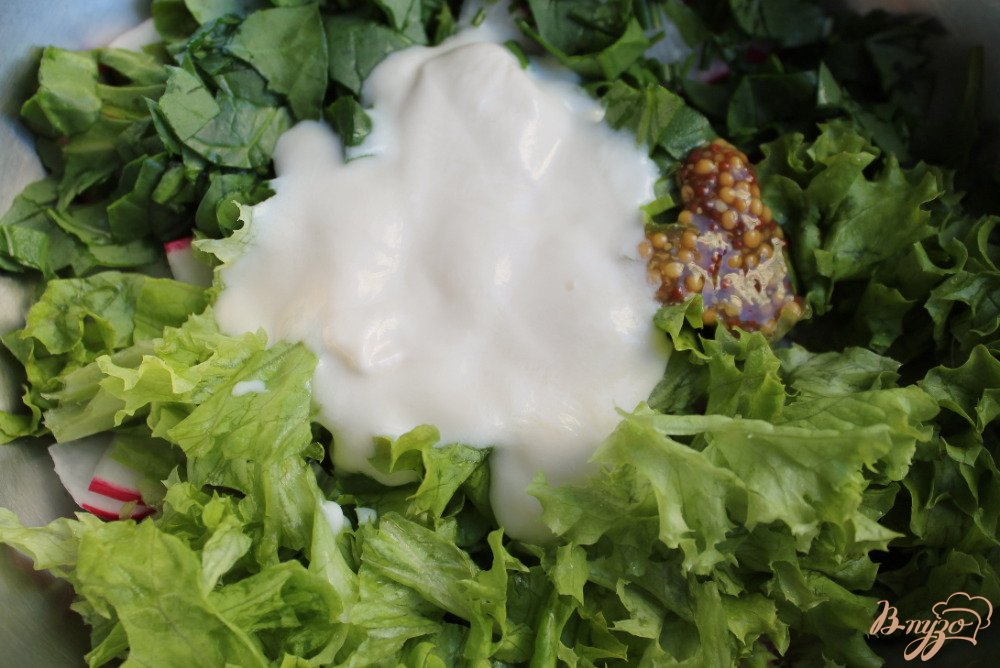 Салат фиалка пошагово