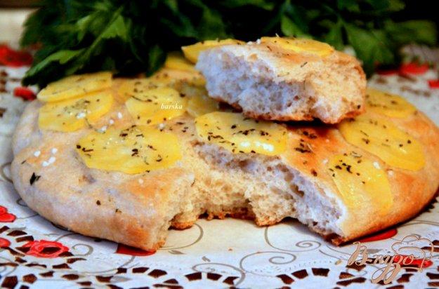 фото рецепта: Фокачча с картофелем