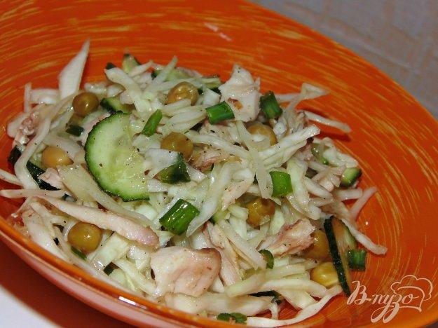 фото рецепта: Капустный салат с куриным мясом