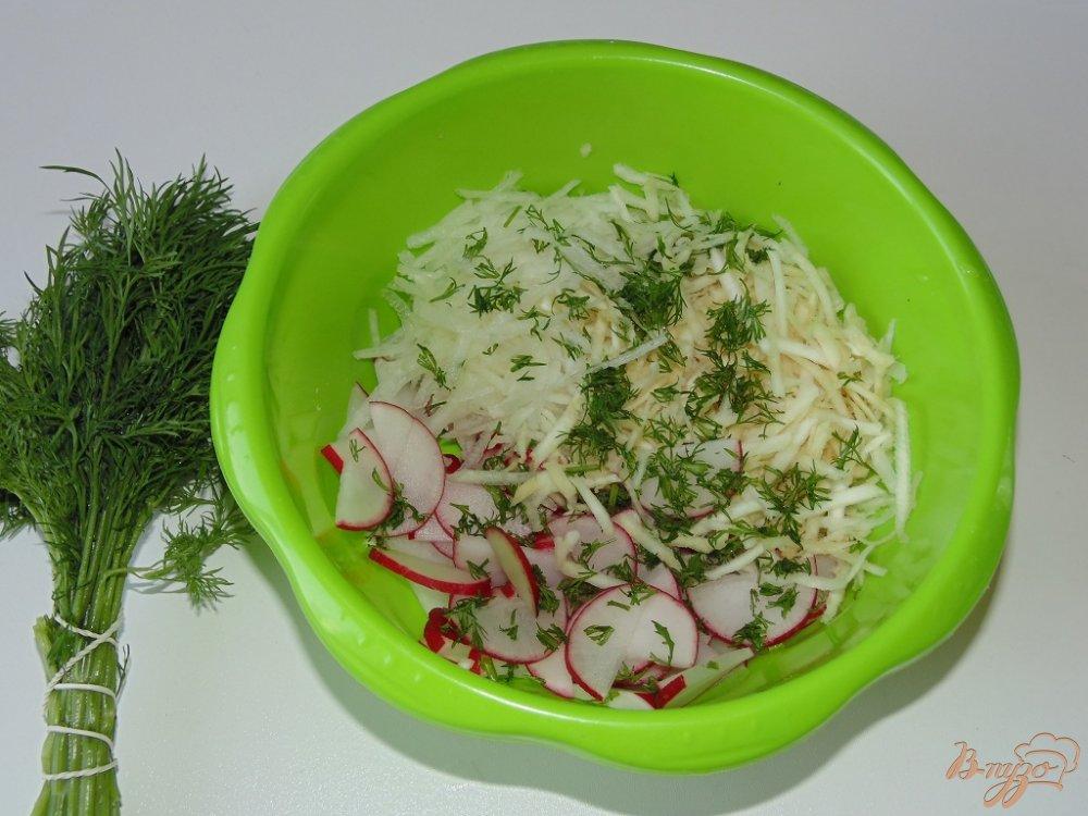 Салат из редиса дайкон рецепт