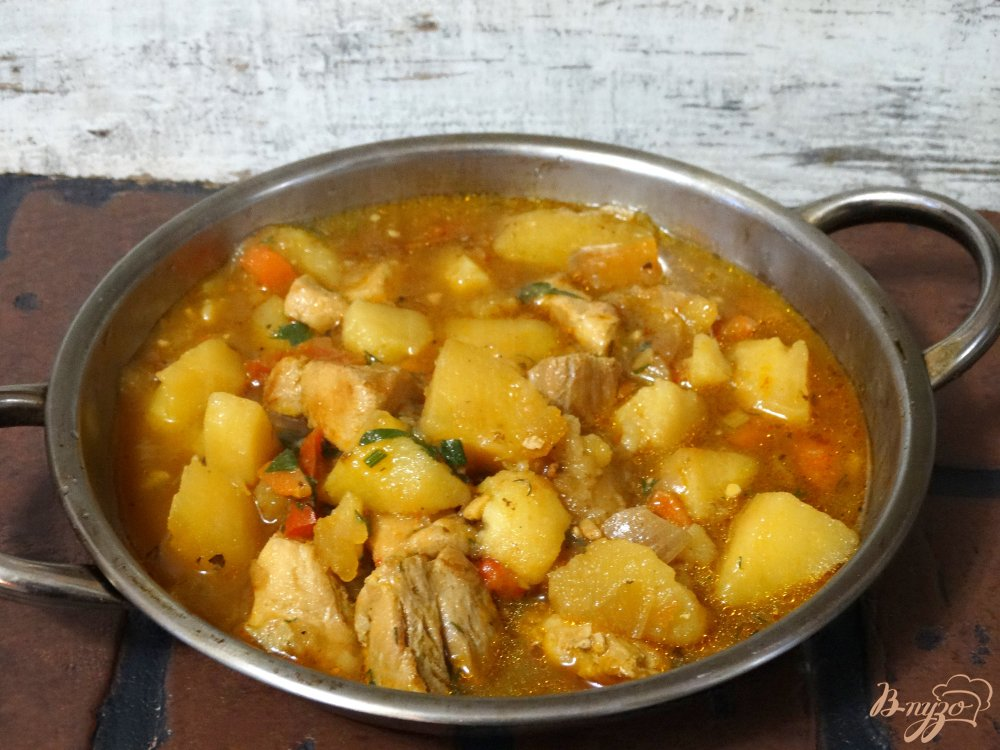 венгерский суп гуляш рецепт в мультиварке