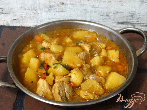 Суп из свинины пошагово